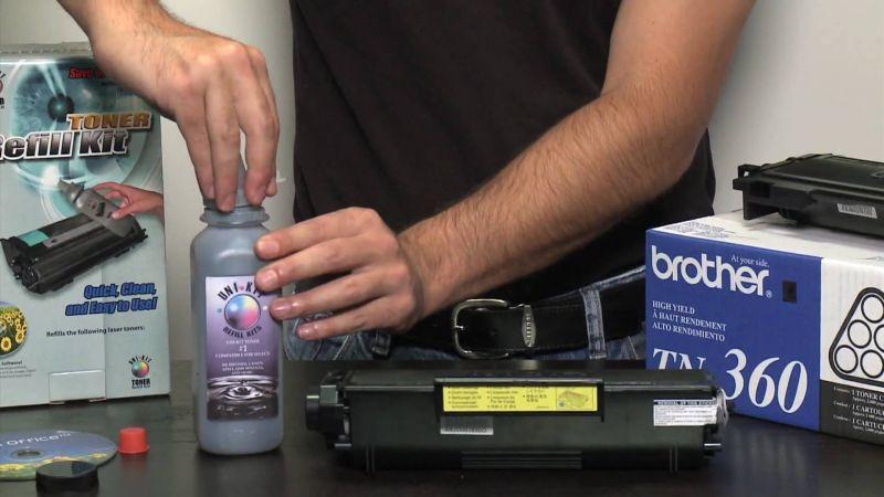 Ξαναγέμισμα (refill) σε μελάνια εκτυπωτή