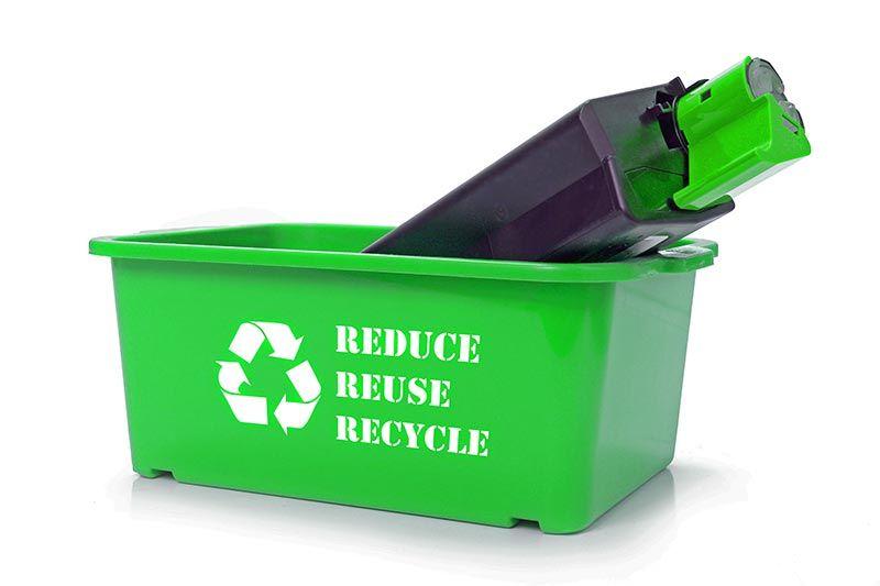Ανακύκλωση άδειου τόνερ