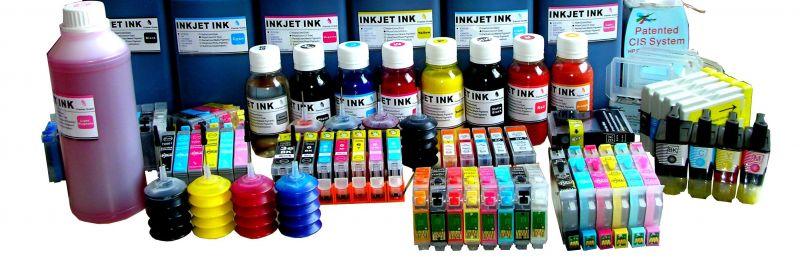 Συμβατά μελάνια για inkjet εκτυπωτές